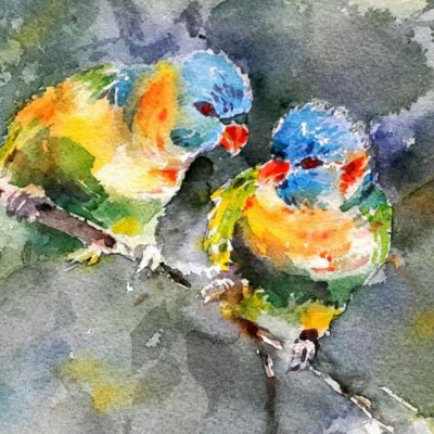 Rahele safi watercolor